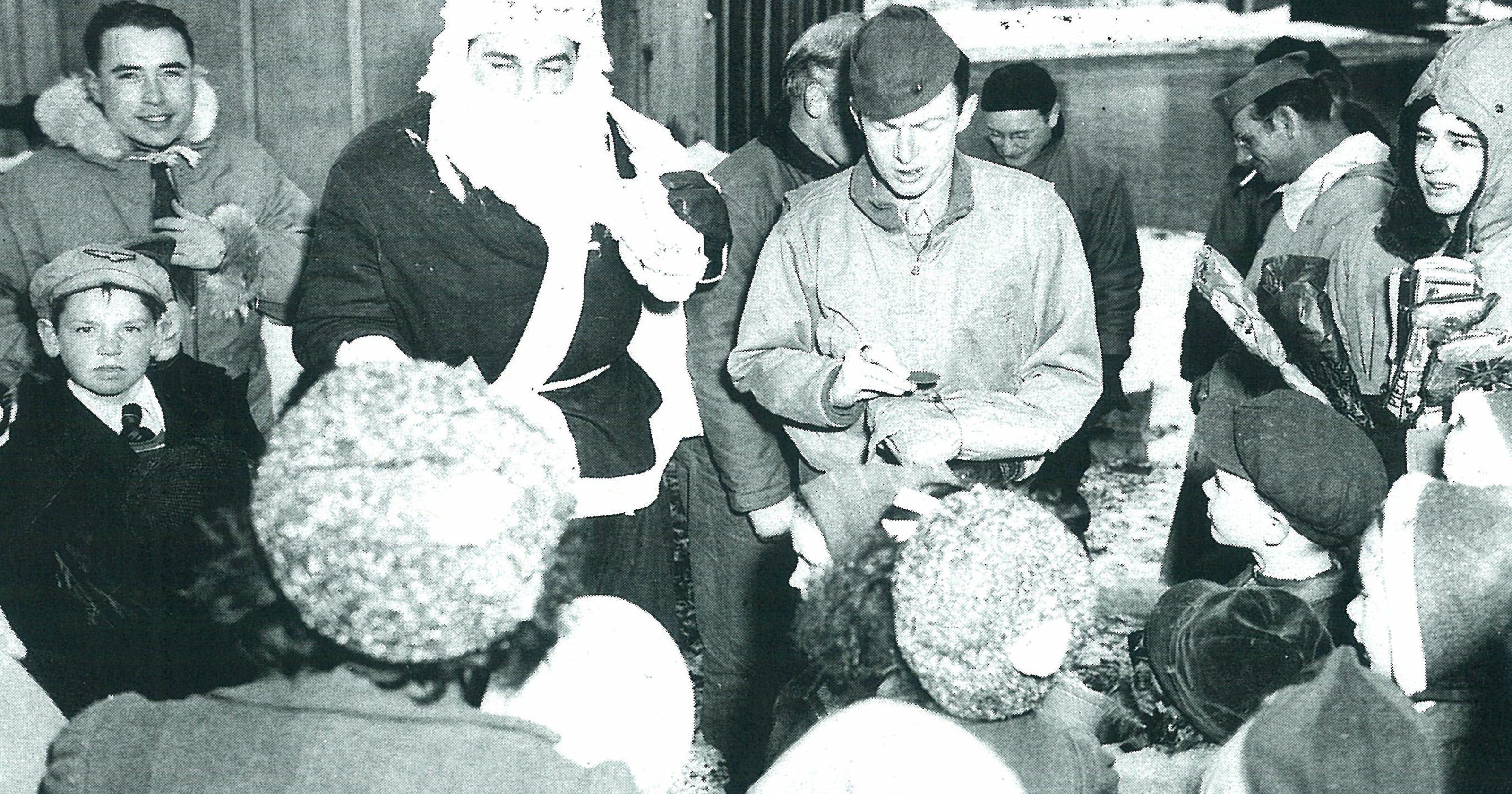Christmas 1945 was a celebration like no other