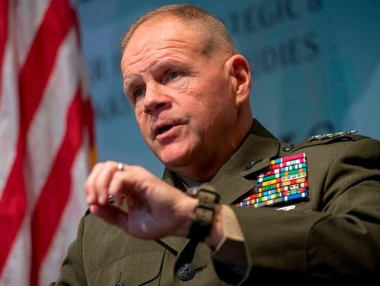 Gen. Robert Neller, the commandant of the Marine Corps, has ordered a new investigation of sexual harassment allegations at its base in Quantico, Va.