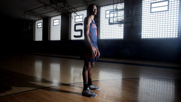 Alan Griffin of Stepinac, photographed March 27, 2018,
