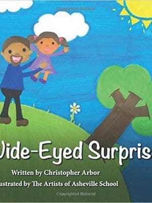"""The cover of """"Wide-Eyed Surprise."""""""