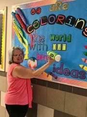Susan Nickias, fourth-grade math and science teacher at Holiman Elementary had some bright ideas for her classroom.