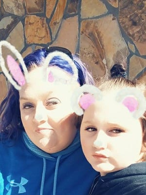 Emmalee Budrevich, right, is shown in this photo with her mother, Randee Budrevich. Emmalee died Saturday night in a hit-and-run collision near Seneca.