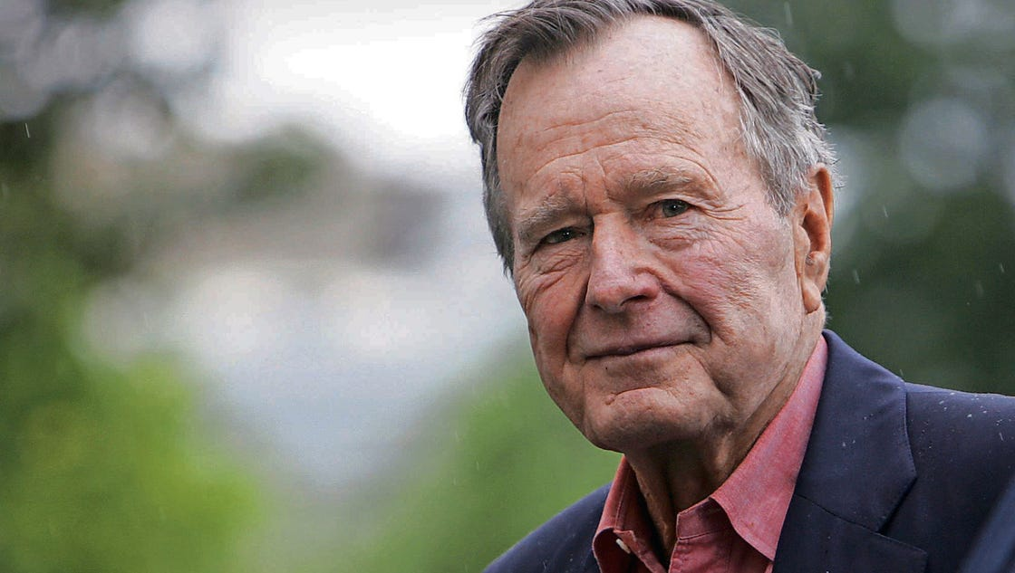 george h w bush and nations George hw bush became the longest living president on saturday at the age of 93.