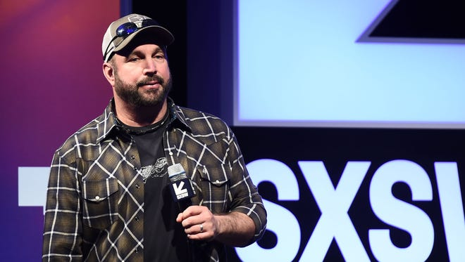 Garth Brooks during his keynote at SXSW Festival on March 17, 2017 in Austin, Texas.