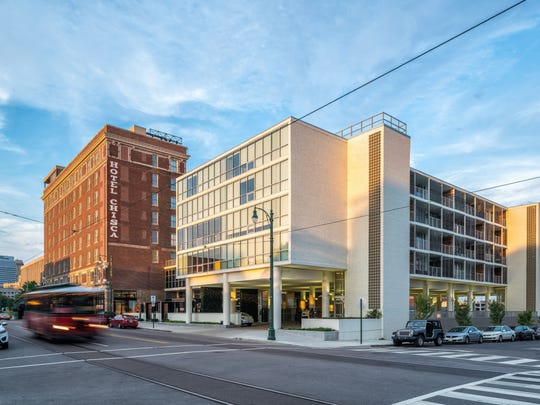 LRK won an Award for Excellence for the renovation of The Chisca on Main.