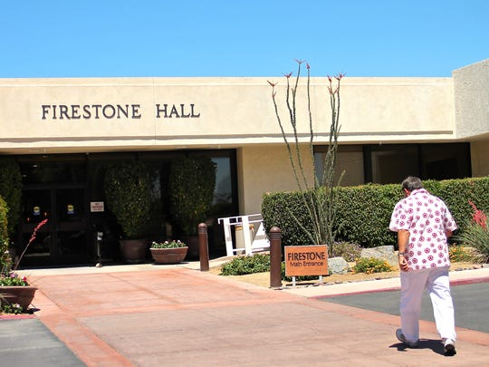 "The Betty Ford Center is moving its day treatment services to the newly renovated Firestone Hall, which was unveiled Tuesday. The renovations included an auditorium and a ""serenity room."""