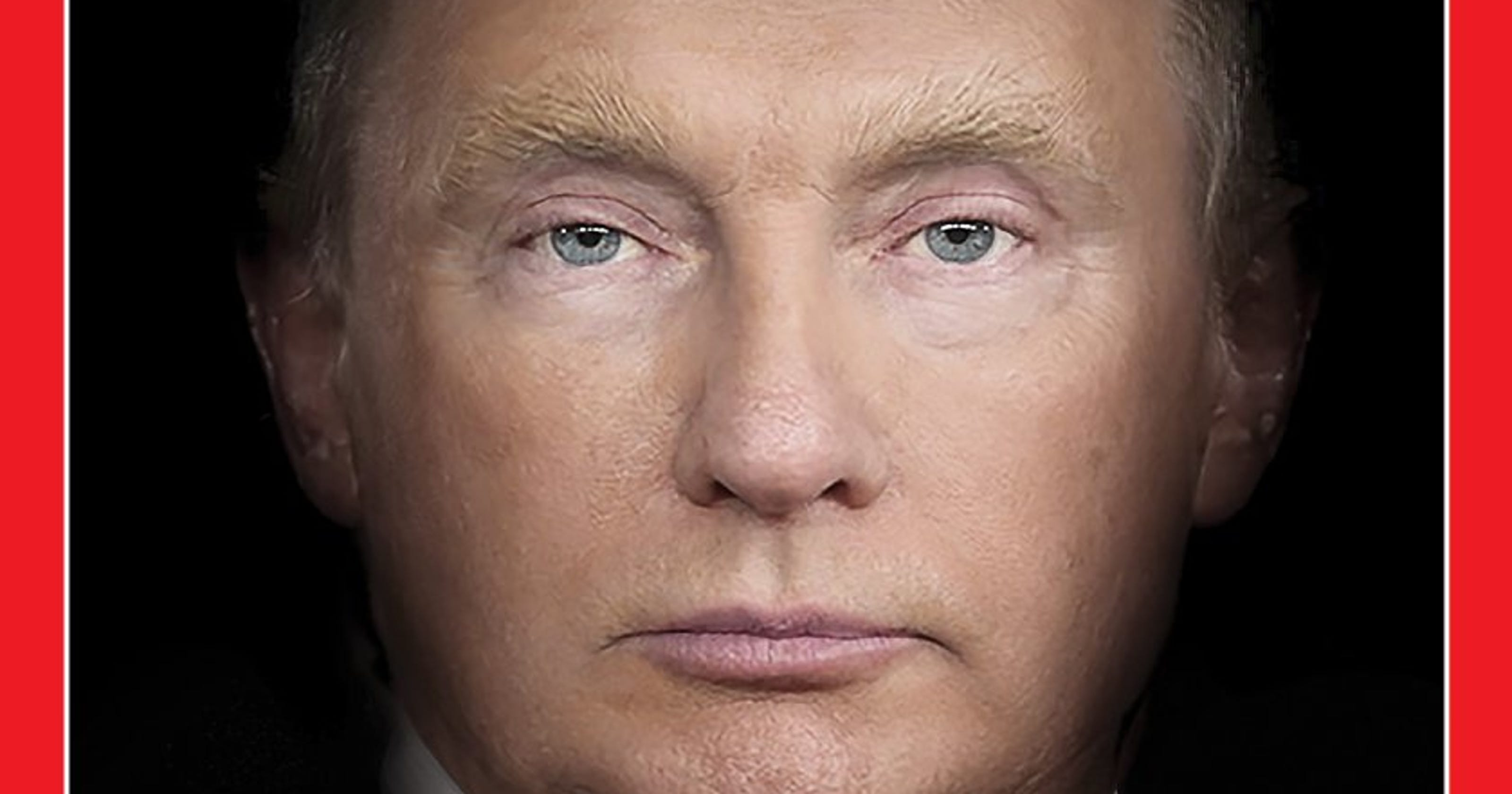 time magazine cover features eerie portrait of trump putin face mashup