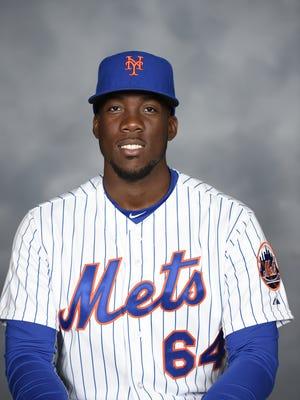 Binghamton Mets pitcher Akeel Morris