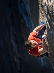 Tommy Caldwell climbs the Dawn Wall (VI 5.14d), considered the longest, hardest free climb in the world. After spending 19 days on the wall, he and Kevin Jorgeson reached the summit of El Capitan in Yosemite National Park for their historic first free ascent of the Dawn Wall on Jan. 14, 2015.