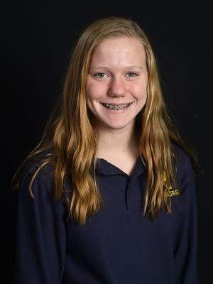 Clare Bosse, Our Lady of Lourdes swimming