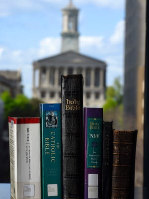 Gov. Bill Haslam vetoed a bill Thursday that would have made the Bible the official state book of Tennessee.