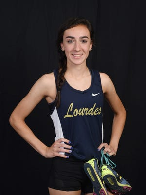 Our Lady of Lourdes High School's Caroline Timm is the Journal's 2017 Girls Indoor Track and Field Athlete of the Year.
