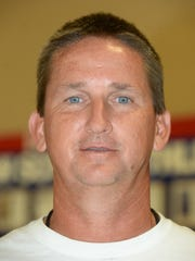 Union City High School football Coach Mike Thompson