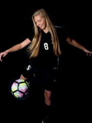 Station Camp sophomore Michaela Nicholson is a Co-Offensive