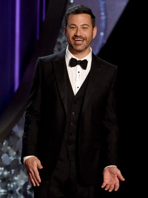 Just five months after hosting the Emmys, Jimmy Kimmel will host the Oscars ceremony Feb. 26 on ABC.