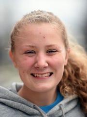 Richmond High School tennisAbby Mayer
