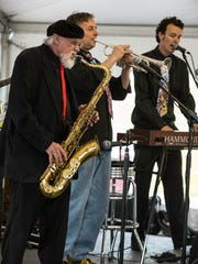 The jazz band Honey Roy is one of the groups that performed at the at the Historic Newburgh Wine, Art and Jazz Festival in 2014.