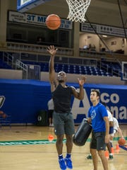 FGCU freshman point guard Darnell Rogers loves to attack the basket with floaters.