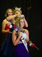 Hannah Dell is crowned Miss Wayne County at St. Valentine