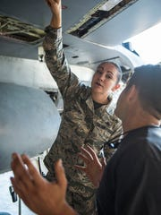 Master Sgt. Nina Brown, 54th Maintenance Squadron production