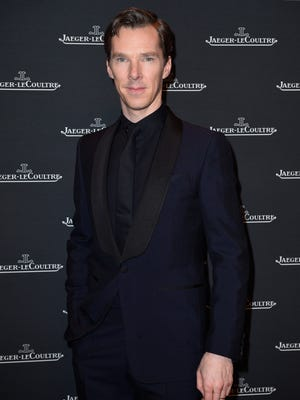 Benedict Cumberbatch, photographed at an event in Switzerland, spoke to television critics Wednesday about PBS Masterpiece's 'The Child in Time.'