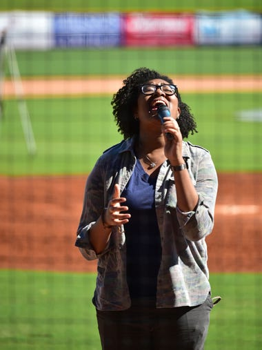 Angel Yancey, who has been singing since she was 3-years-old,