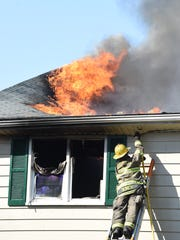 The cause of the fire that engulfed a Staunton home