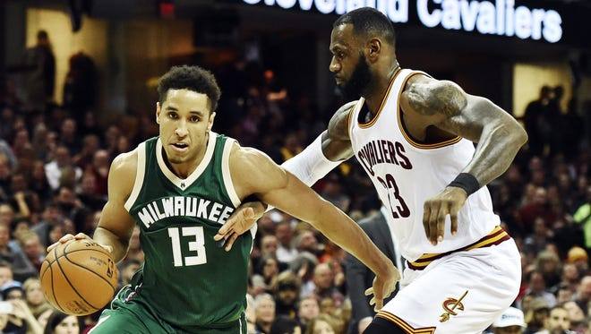 Malcolm Brogdon and the Bucks begin their home schedule against LeBron James and the Cleveland Cavaliers.