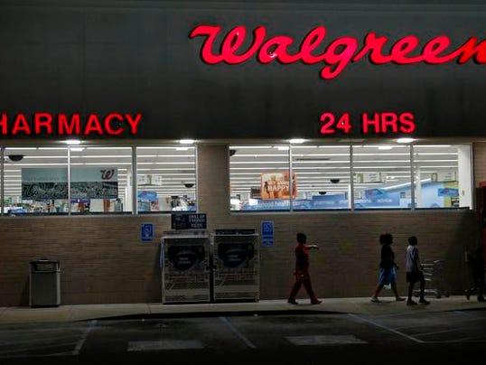 Earns Walgreen