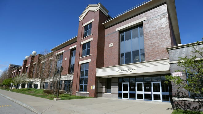 School 16 shares space at the Freddie Thomas campus while its regular building is refurbished.