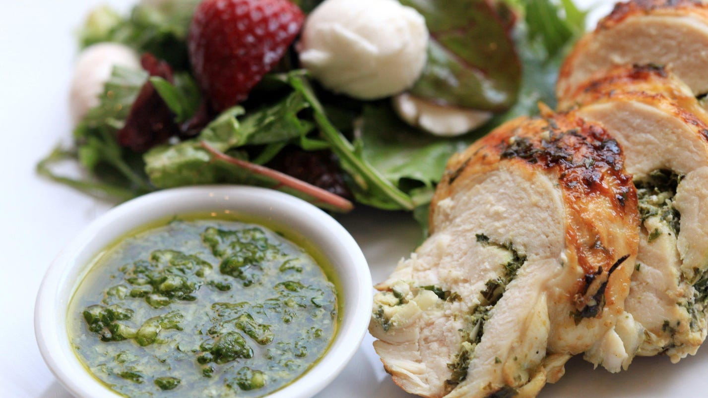 Pesto Chicken Recipes Food Network