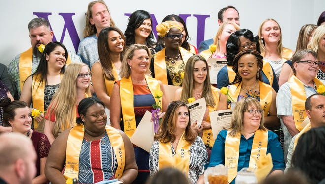 Pictured are graduates of Western New Mexico University's Bachelor of Social Work degree program, which now ranks No. 1 as the 2018 Best Online Bachelor of Social Work and remains on multiple similar lists.