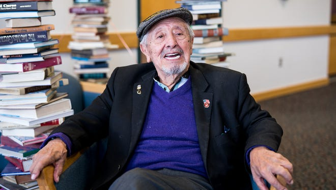 Western New Mexico University's Scholar-in-Residence, Dr. Felipe de Ortego y Gasca (pictured), recently received the Premio Estrella de Aztlán – Lifetime Achievement Award and was honored when the campus cultural center was named after him.