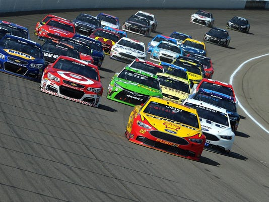 NASCAR Sprint Cup Series FireKeepers Casino 400
