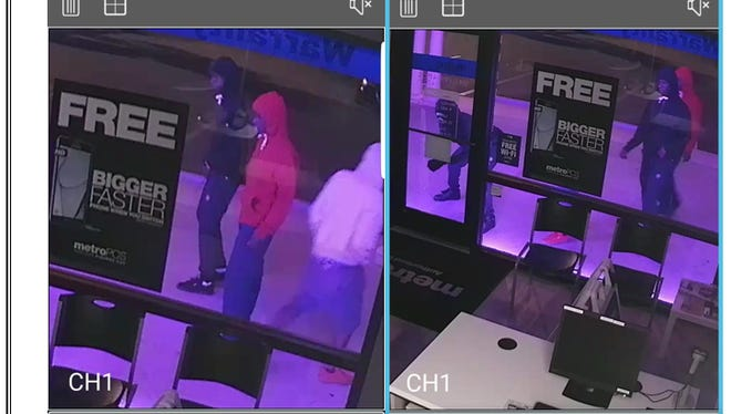 Suspects in an attempted burglary in Port Charlotte on Sunday