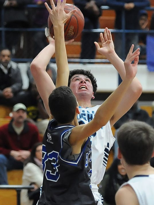 Boys Basketball Nicolet vs Whitefish Bay