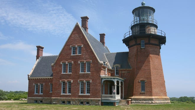 The Victorian-style light keeper's building at Block Island Southeast, R.I., stands out for its architectural beauty.