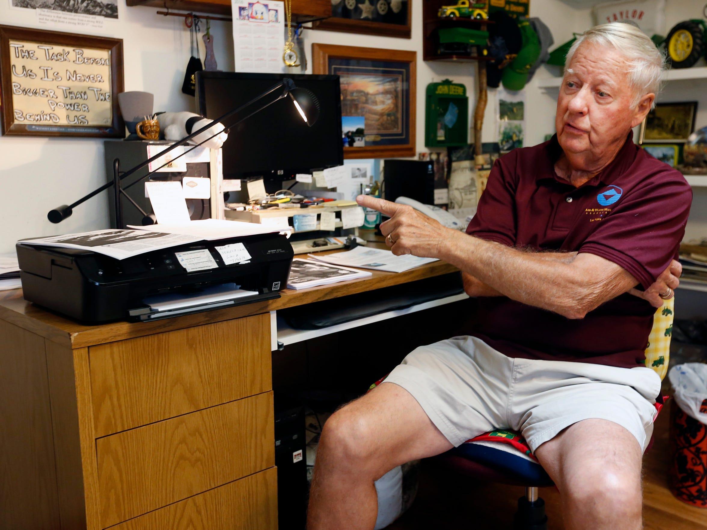 Air Force veteran Victor Skaar talks about his involvement