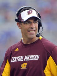 Dan Enos, former Central Michigan head coach, is taking