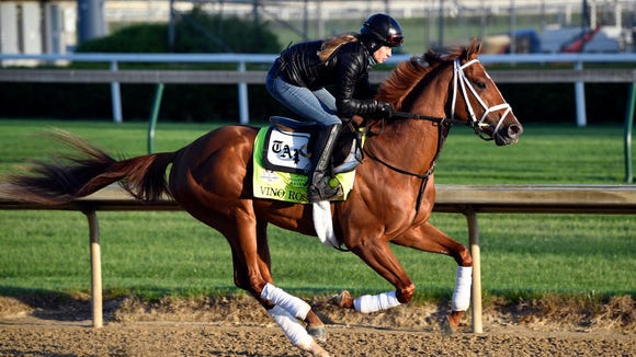 USP HORSE RACING: KENTUCKY DERBY-WORKOUTS S RAC USA KY