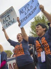 Madres protestaron en Florida pidiendo un alto a las