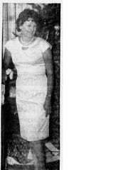Beverly Snodgrass, a Butte madam, is pictured at the