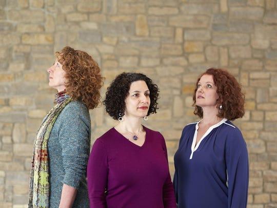"Vermont theater artists Kelly Thomas, Kim Jordan and Jena Necrason present ""Intersections"" Nov. 3-4."