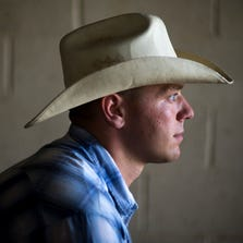 A portrait of Alex Bingham at Welcome Home Ranch, a therapeutic community that teaches life skills to former addicts.