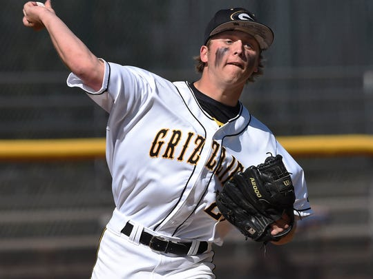 Galena pitcher Nick Brown is back for his senior season.
