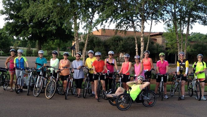 The next women's beginner ride will be on Saturday, July 26, at the Renaissance in Ridgeland.