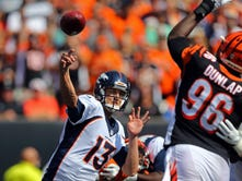 Siemian, Broncos rally past Bengals
