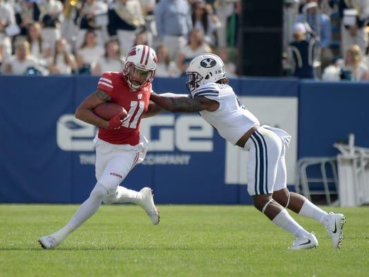 NCAA Football: Wisconsin at Brigham Young