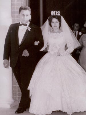 Mr. and Mrs. Serapio Montelongo of San Angelo.