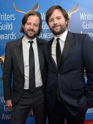 'Stranger Things' creators Matt Duffer, left, and Ross